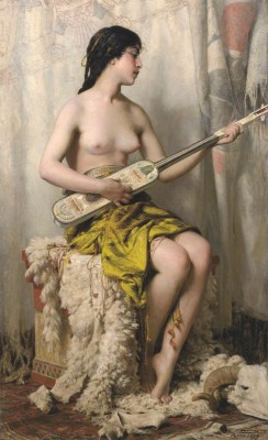 The Mandore Player, c.1879, Oil on Canvas