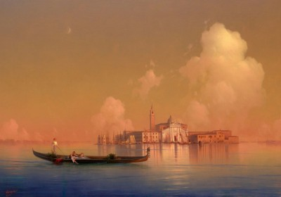 View of Venice, San Giorgio Maggiore, c.1851, Oil on Canvas
