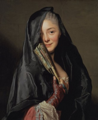 Lady with the Veil, c.1768, Oil on Canvas