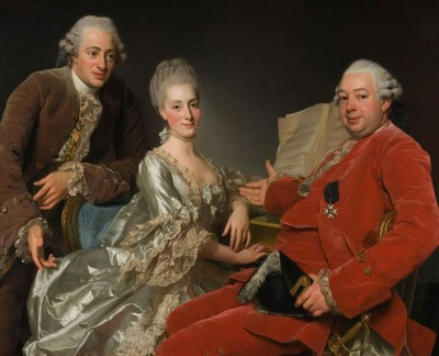 Portrait of John Jennings and his Brother with Sister-in-Law, c.1769, Oil on Canvas