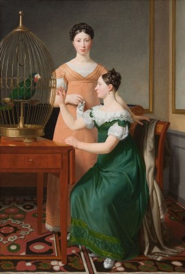 Bella and Hanna Nathanson, c.1820, Oil on Canvas