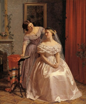 Embellishment of the Bride, c.1859, Oil on Canvas