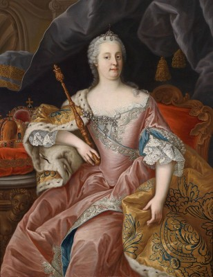 The Wife of Emperor Franz Stephan, c.1760, Oil on Canvas