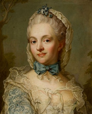 Portrait of Countess Anna Eleanora Lowenhielm c.1761, Oil on Canvas