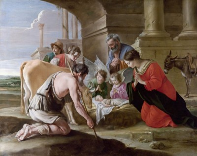 The Adoration of the Shepherds, c.1640, Oil on Canvas