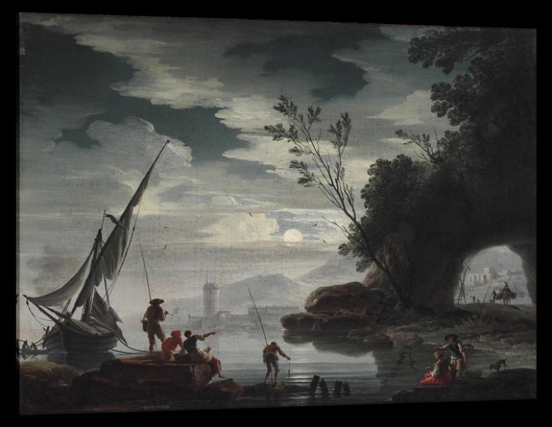 Mediterranean Landscape, after Charles De Lacroix