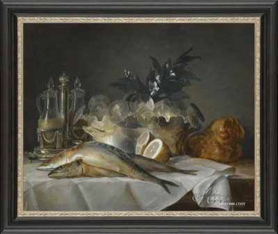 French Still-Life Painting, after Anne Vallayer-Coster