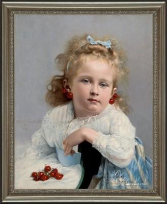 Cherries, after Jules Emile Santin