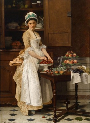 The Chamber Maid, c.1875, Oil on Canvas