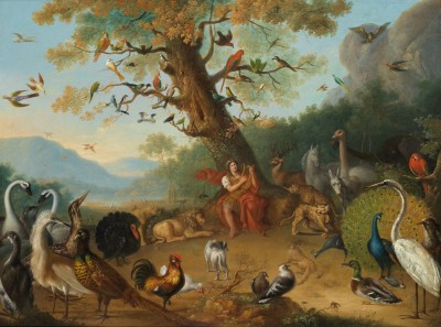 Orpheus Enchanting the Animals, c.1750, Oil on Canvas