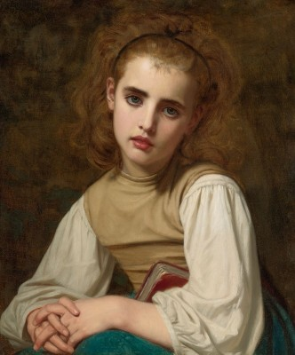 Young Beauty, c.1870, Oil on Canvas