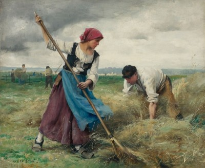 The Harvesters, c.1887, Oil on Canvas