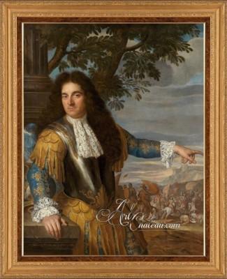Louis XVI Period Painting, after Louis Ferdinand Elle