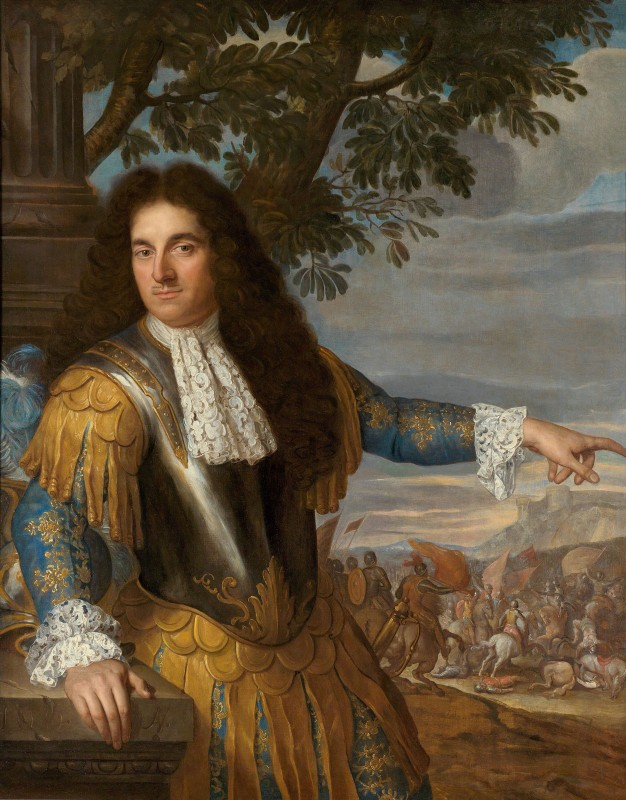 Portrait of Louis Joseph de Bourbon, Duc de Vendôme, c.1660,  Oil on Canvas