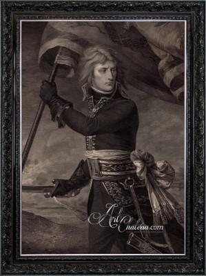 Neoclassical Interior Design, Portrait of Napoleon Bonaparte