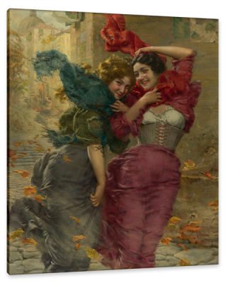 A Windy Day in Bellagio, c.1901, Oil on Canvas
