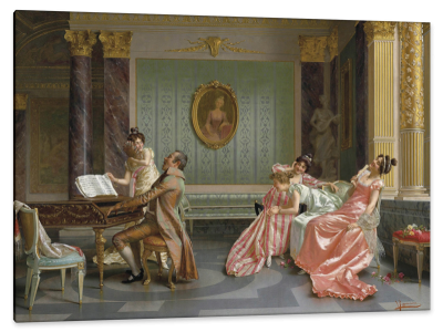 The Recital, c.1898, Oil on Canvas