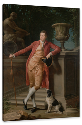 Portrait of John Talbot, later the 1st Earl of Talbot, c.1773, Oil on Canvas