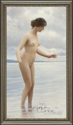 Young Beauty, after Eugene von Blaas