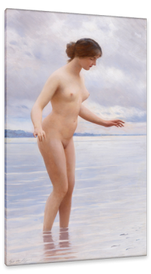 Young Beauty, c.1900, Oil on Canvas