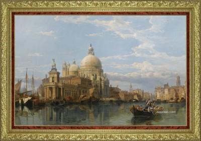 Classical Interior Design painting, Santa Maria Della Salute