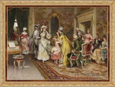 The Wait, after Italian artist Arturo Ricci