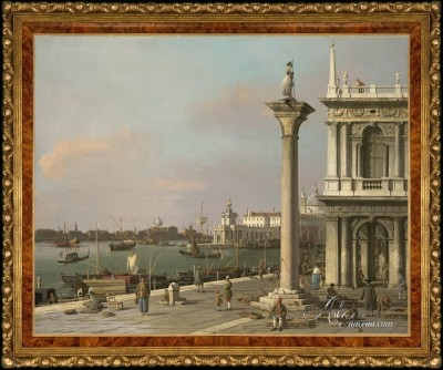 The San Marco Basin, from the Piazzetta, after Canaletto