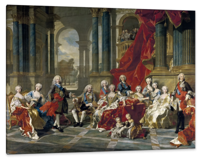 The Family of Philip V, c.1760, Oil on Canvas