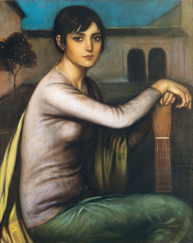 Tristeza, Andaluza Melancholy, c.1909, Oil on Canvas