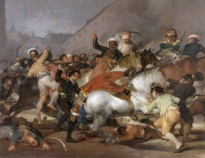 The Charge of the Mamelukes, c.1814, Oil on Canvas