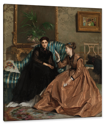 The Letter, c.1867, Oil on Canvas