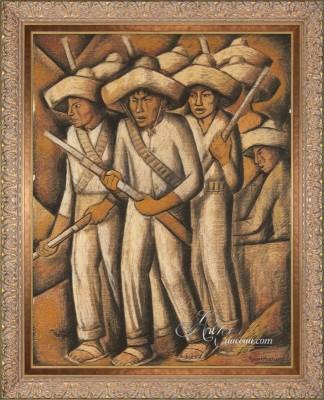 Latin American Interior Design, Alfredo Ramos Martínez Painting