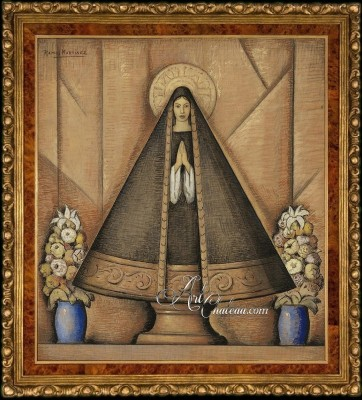 Our Lady of Solitude, after Alfredo Ramos Martínez