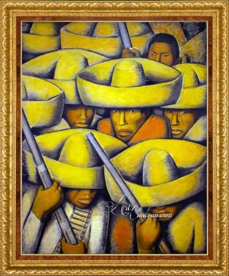The Revolution, after Painting by Diego Rivera