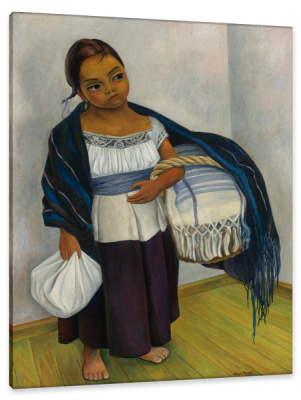 Portrait of Ten Year Old Juanita Roses, c.1939, Oil on Canvas