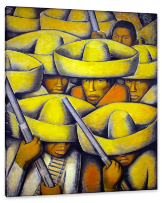 The Revolution, c.1929, Oil on Canvas
