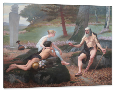 The Narrative of Philetas, c.1887, Oil on Canvas