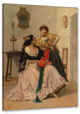 Cartagena, The Red Sash, c.1872, Oil on Canvas