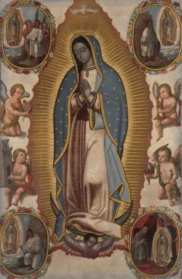 Virgin of Guadalupe, c.1700, Oil on Canvas