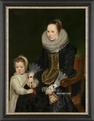 Flemish Fine Art Masterpiece, after Cornelis de Vos