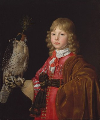 Portrait of a Boy with a Falcon, c.1660, Oil on Canvas