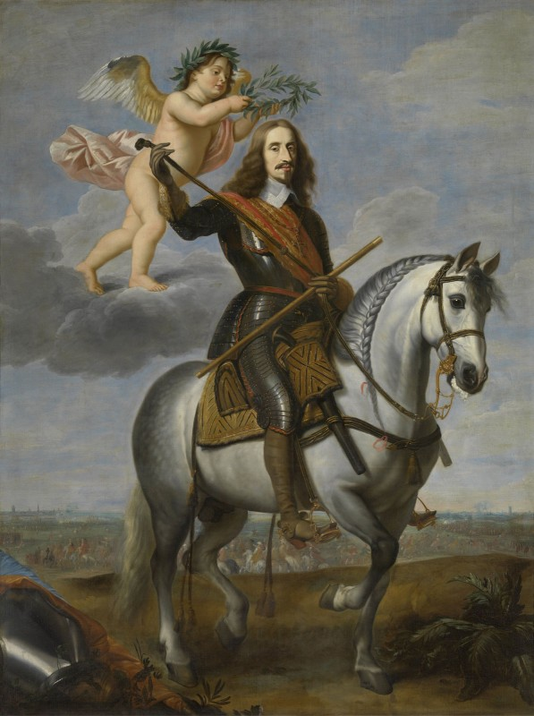 Equestrian portrait of Archduke Leopold Wilhelm, c.1640, Oil on Canvas