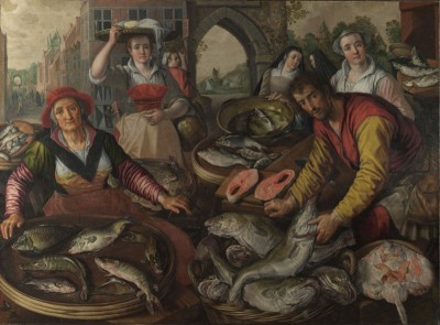 Fish Market, c.1570, Oil on Canvas