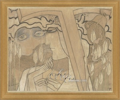 Desire and Satisfaction, after Pastel by Jan Toorop