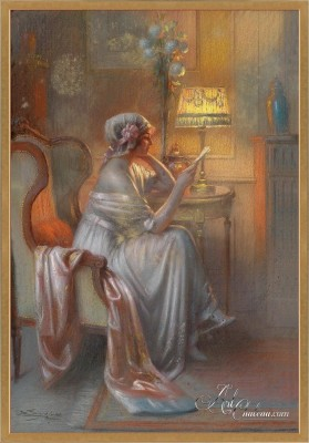 The Love Letter, after Delphin Enjolras