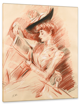 Madame Marthe Letellier, c.1895, Pastel on Canvas