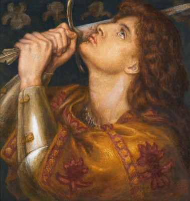 Joan of Arc, c.1864, Pastel on Board