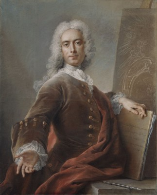 Self-Portrait of the Artist, c.1734, Pastel on Paper
