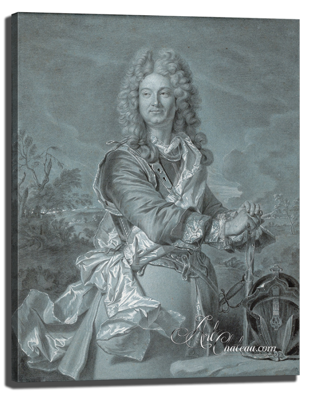 Baroque Style Portrait of a Marshal of France
