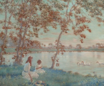 Summer Days, c.1918, Watercolor on Paper